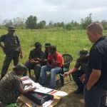 Rangers learn how to use Conservation Drones in the Central Surinam Nature Reserve.