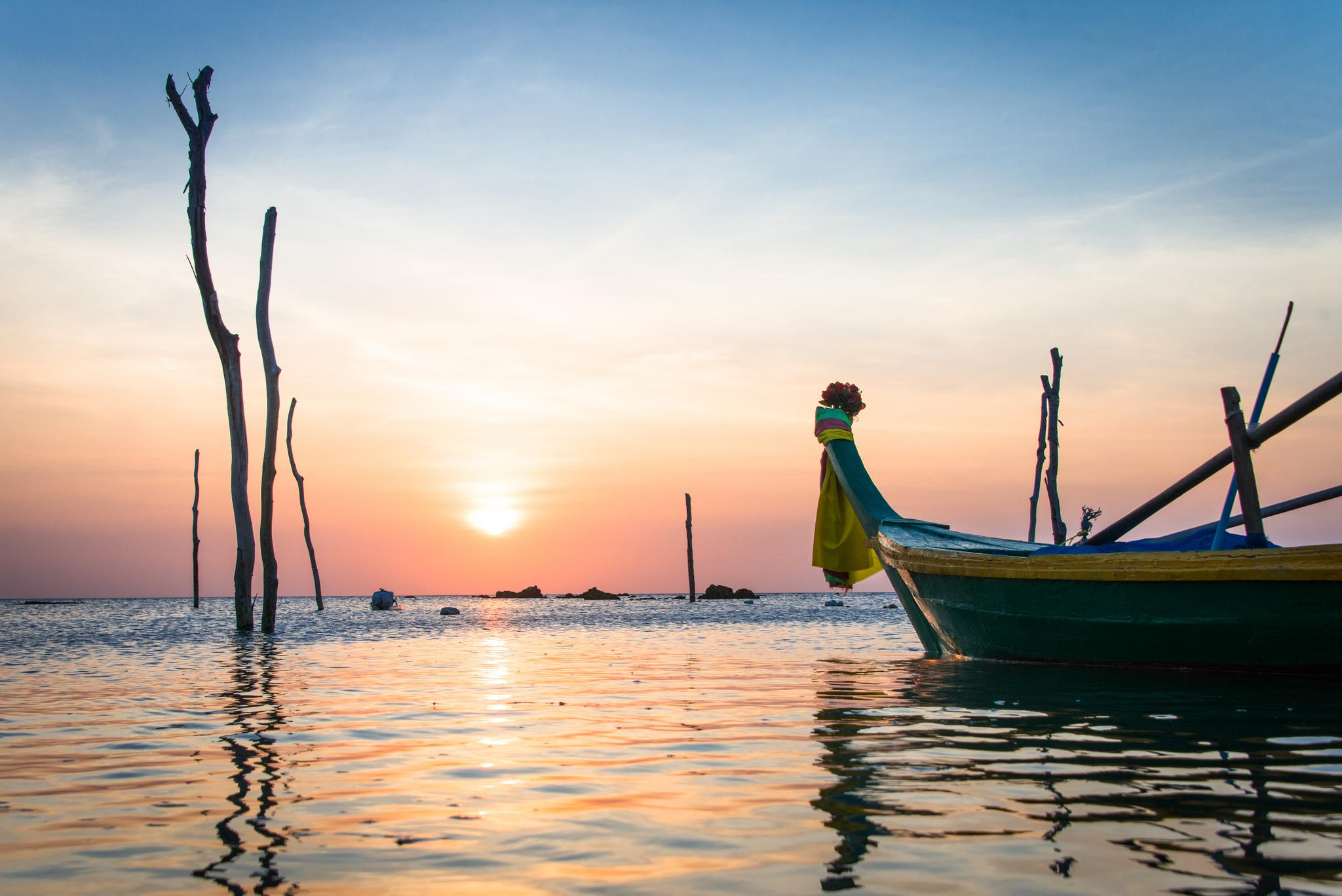 Sunset - Ko Lanta / Thailand, Rushen January 29, 2014