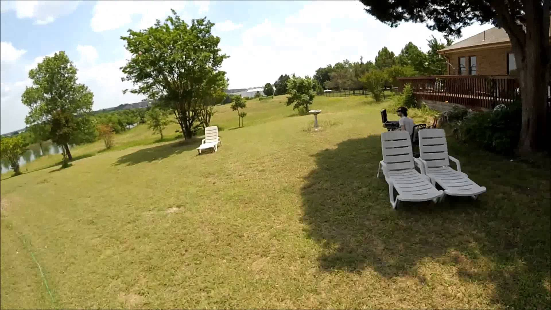Drone Accident ZMR250