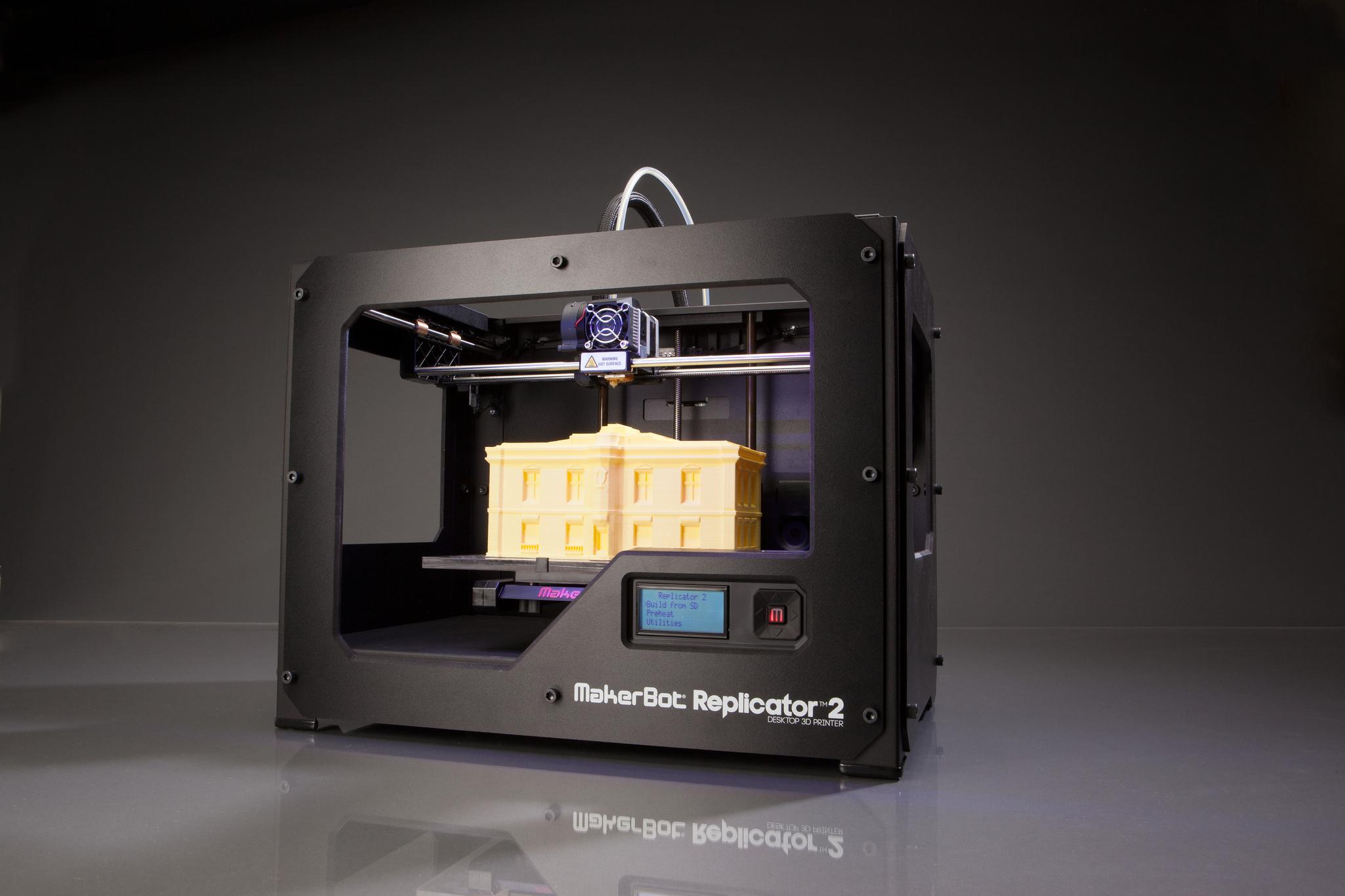 Makerbot Industries - Replicator 2 - 3D-printer 07, Creative Tools October 12, 2012
