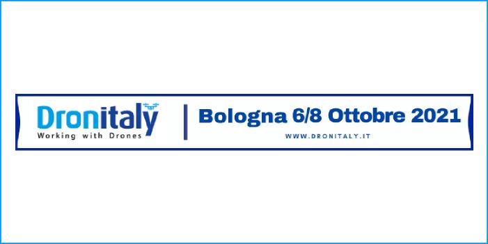 Dronitaly posticipo dell'evento al 6 / 8 ottobre 2021