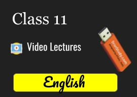 CBSE Class 11 English