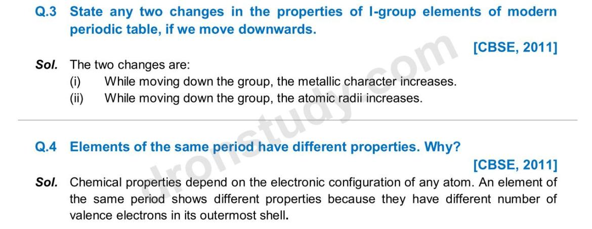 Previous Year Questions - Periodic Classification_02