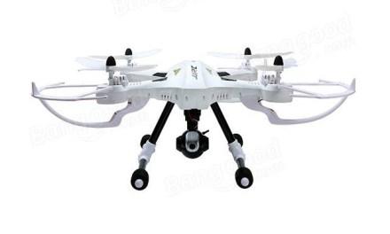 JJRC H26D – Dron s kamerou a gimbalem