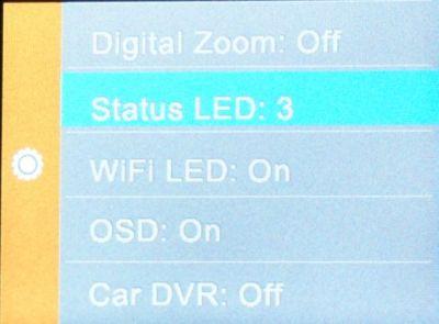 SJCAM_mod stav LED