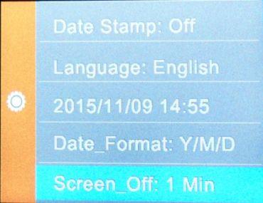 SJCAM_screen off