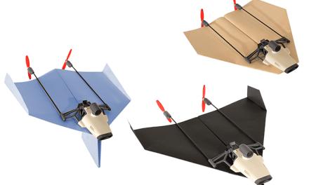 PowerUp FPV – papírová vlaštovka s kamerou a podporou Google Cardboard