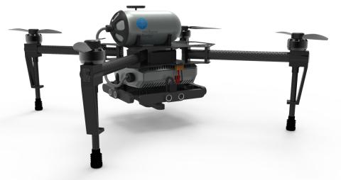 Vodíková baterie rapidně zvýší výdrž dronů