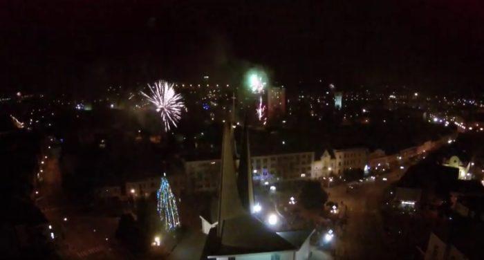 Video: Silvestrovský ohňostroj