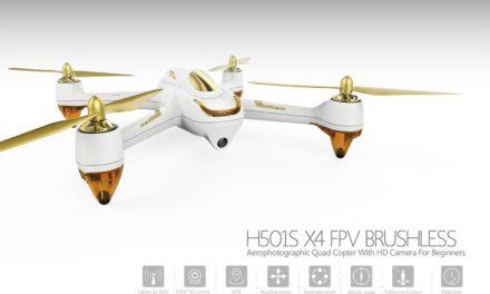 Dron Hubsan H501s s GPS s cenou na historickém minimu