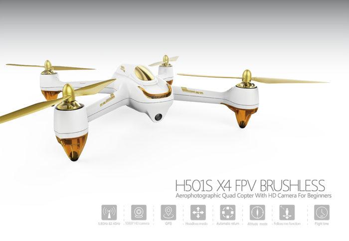 Dron Hubsan H501s X4 se dočkal další slevy