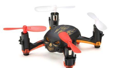 Global Drone GW008 Mini Skull – death metalový mini dron