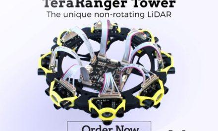 TeraRanger Tower – nová konkurence pro Lidar