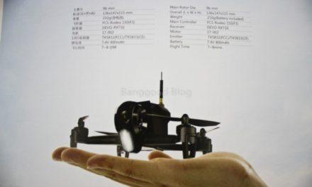 Walkera Rodeo F150 – malá závodní kvadrokoptéra