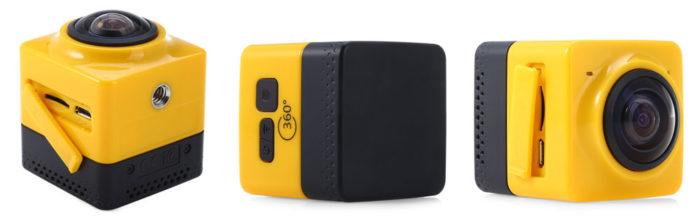 Cube 360 – další 360° kamerka z Číny