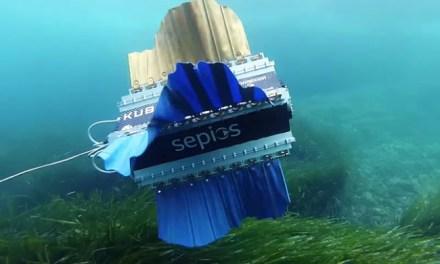 Švýcarští studenti vymysleli podmořský dron Sepios