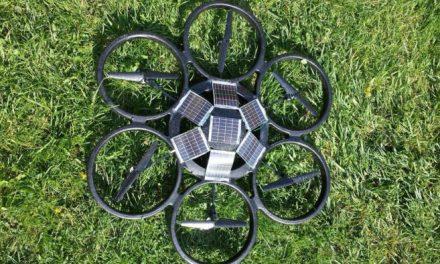 MuonRay – solární dron