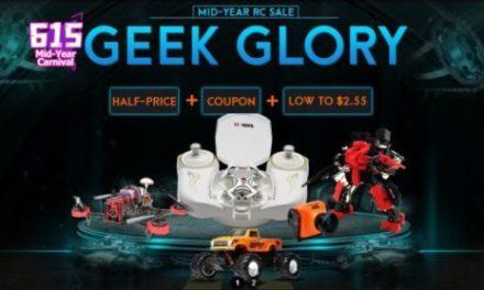 Ušetřete 30% při nákupu dronu na BangGood