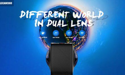 Akční kamera ELECAM 360 se dostává do předprodeje