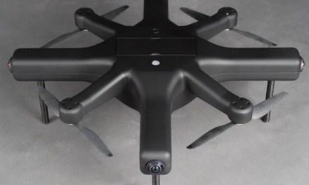 Exo360 Drone hravě zvládne 360° video