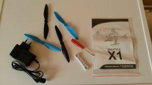 Srovnání JJRC X1 vs. XK X251