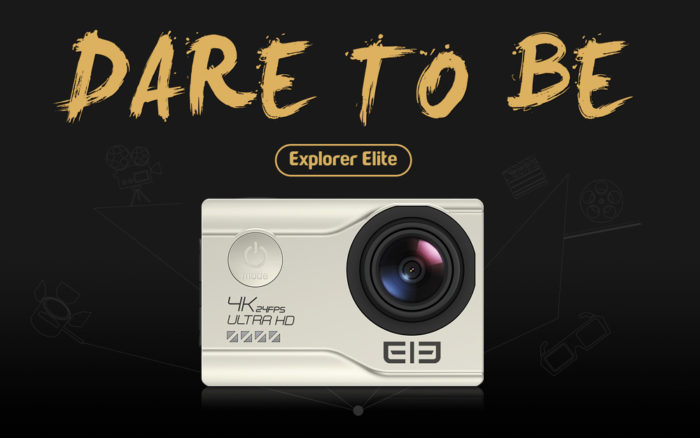 Kamera Elephone Elecam Explorer Elite 4K v prodeji. Známe cenu!