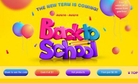 Back to School na Gearbest