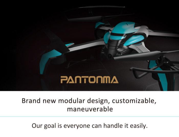Kai Deng K80 Pantonma – modulární dron, který se vyhne překážkám