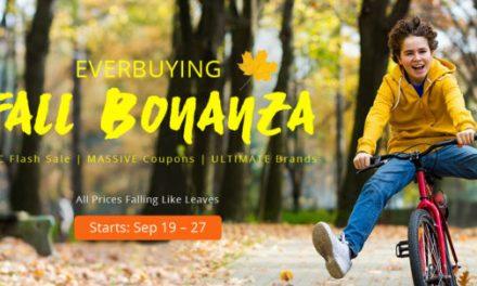 Podzimní výprodej Fall Bonanza na Everbuying