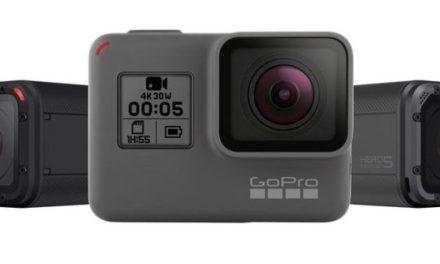 GoPro Hero 5 a Hero 5 Session oficiálně představeny