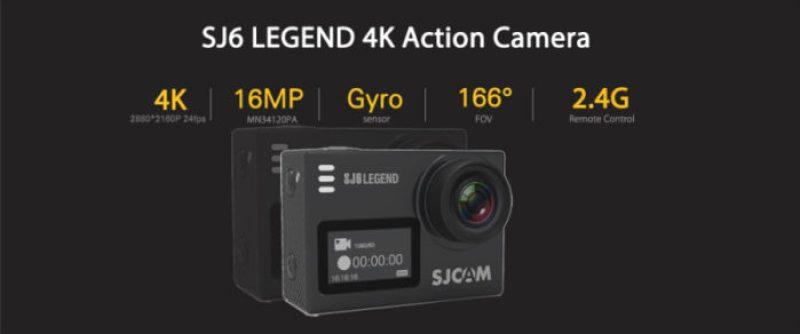 kamera SJCAM SJ6 Legend