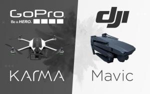 GoPro Karma vs. DJI Mavic Pro - jak jsou na tom s videem?