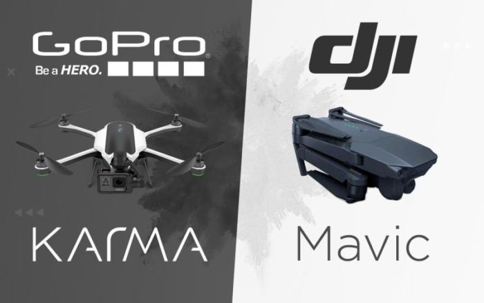 GoPro Karma vs. DJI Mavic Pro – jak jsou na tom s videem?