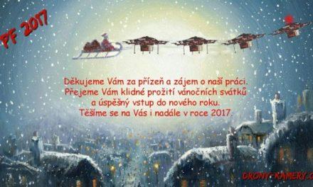Šťastné a veselé Vánoce přejí Drony-kamery.cz