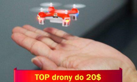 Nejlepší drony pod 20 dolarů