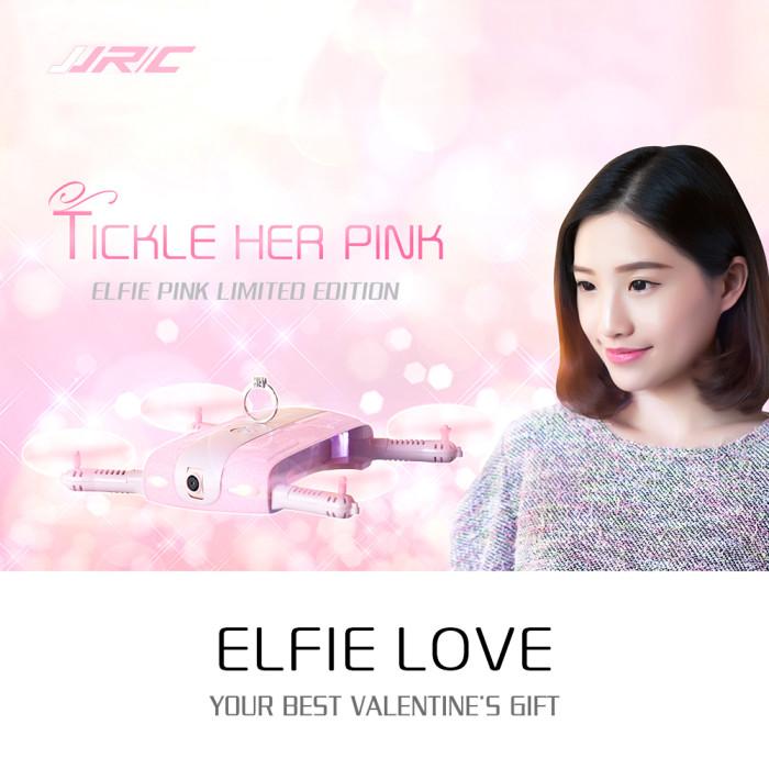 JJRC H37 Pink - skládací dron pro holky