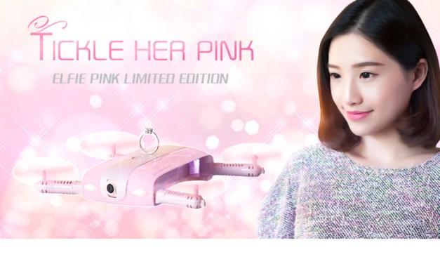 JJRC H37 Pink – skládací dron pro holky