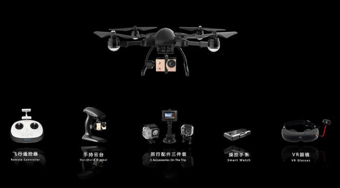Simtoo Dragonfly Pro – skládací kameraman s 4K a GPS