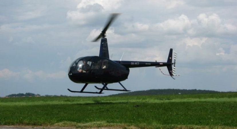 Helikoptéra vs dron
