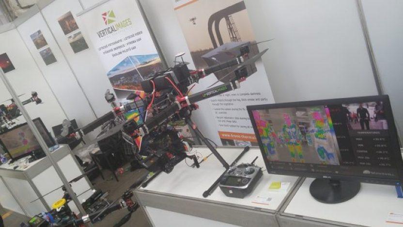 Výstavy a veletrhy s drony v 1/2 roku 2017