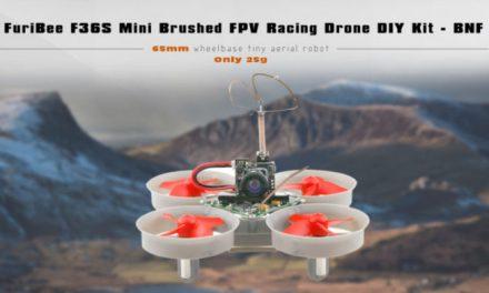 Unboxing FuriBee F36s – první pohled na mini dron s FPV