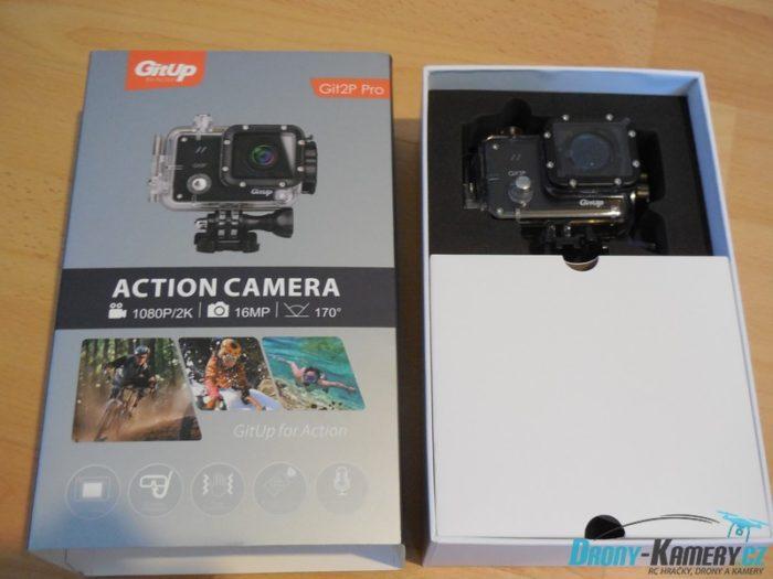 Unboxing GitUP GIT2P 170° – stará známá se snímačem od Panasonicu a větším úhlem záběru