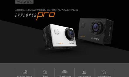MGCOOL Explorer Pro 4K – zajímavá kamera za zajímavou cenu