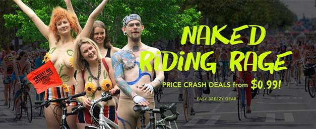Nature Naked Bike – buďte nazí a ušetřete
