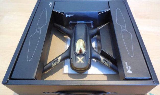 Unboxing Hubsan X4 Air H501A – první pohled na levný dron s GPS