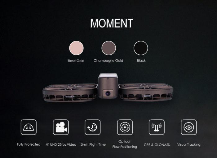 Simtoo Moment – další skládací dron pro selfie