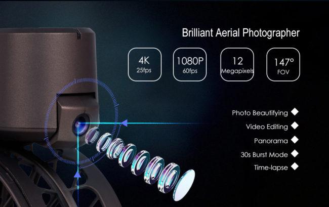 Simtoo Moment - další skládací dron pro selfie