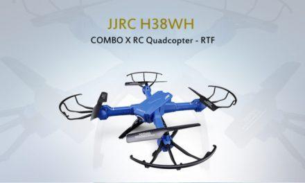 JJRC H38WH Combo X – super skladná koptéra s 2 MPx kamerou