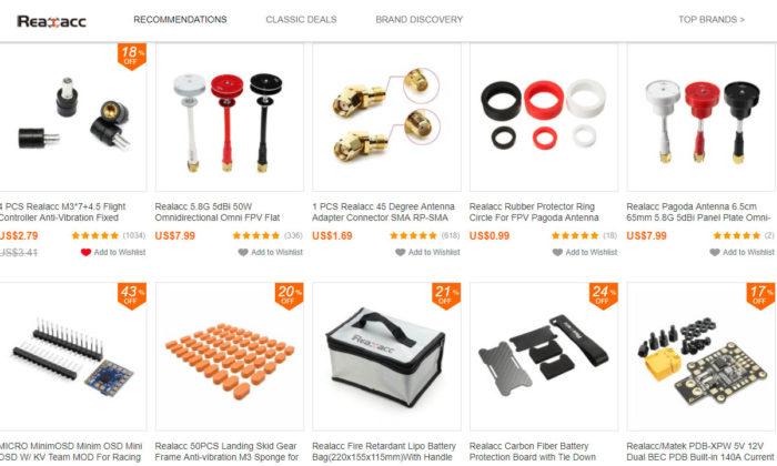 Realacc brand sale