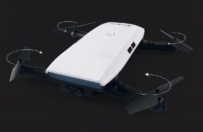 JJRC H47 Elfie a Eachine E56 - skládacích dronů